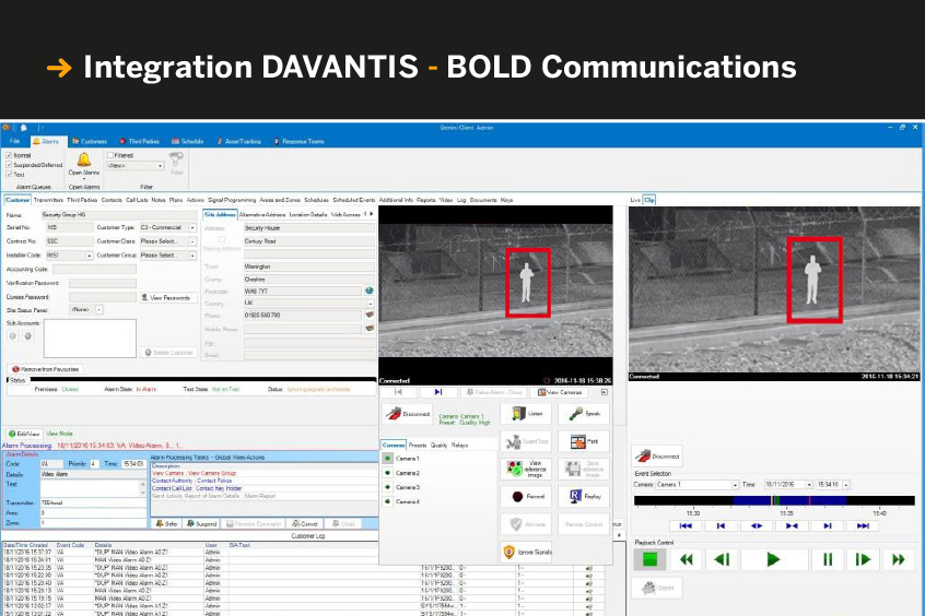 Integration DAVANTIS - Gemini by Bold Communications