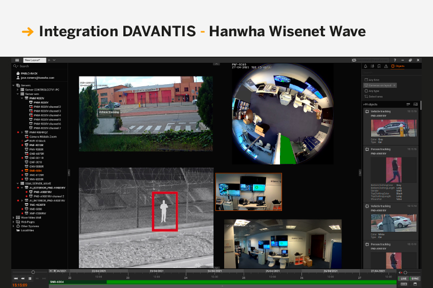Integration DAVANTIS - HANWHA